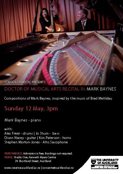 Mark Baynes - 12 May